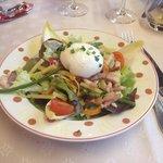 Entrée la salade de l'ensoleillé !!!!