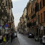 City streets of Rome