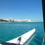 On the catamaran