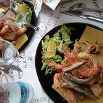 fritto misto di pesce fresco
