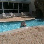 outdoor pool fun