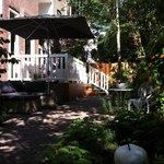 Small hotel garden