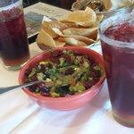 guacamole prepared at the table side