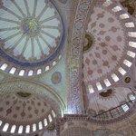 le cupole della Moschea Blu
