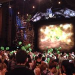 Balloons signifying 6 millionth audience member