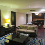 Living room in resort suite