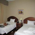 habitación doble, camas comodas