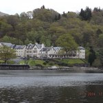 Hotel from loch ferry