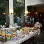 The breakfast spread