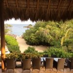 view from Ocean Bar - Cosmo Residences Huatulco