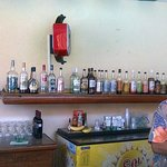 el bar de la alberca principal