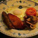 breakfast, sans beans