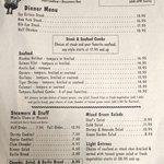 Menu-circa May 2014-side 2 (dinner)