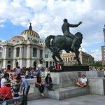 Bellas Artes no centro Historico