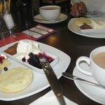 Cafe no 8 scones and tea