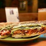 Detalle de sándwich tamaño galería.
