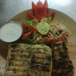 grild fish