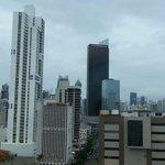 Vista a la ciudad desde el hotel