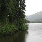 The nearby Briar Lake