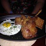 Duck & waffles