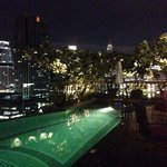 Pool at night - 19th Floor