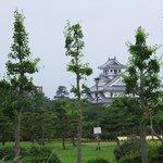 ホテル前から長浜城