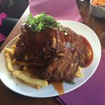Delicious King Henry ribs