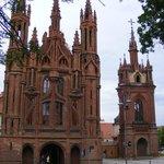 Фасад костела Св. Анны