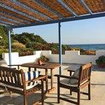 Honeymoon Suite terrace view