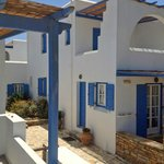 Honeymoon Suite terrace; view of neighboring units