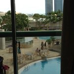 view from premier pool view room2