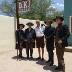 Some of the Actors from OK Corral Gunfight