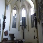 Gothic nave and structure