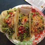 Shrimp taco, whitefish taco, chicken taco......all overly delicious