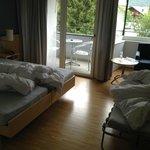 Doppelzimmer mit Notbett