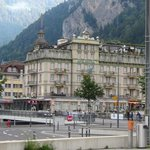 Hotel view from Interlaken west