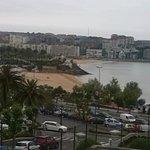 Las vistas desde mi terraza al Sardinero