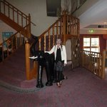 The Elephants welome you in th Foyer at Aspect Tamar Resort