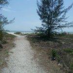 very short walk to beach