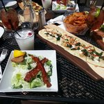 F latbreads, salads and cocktails on the patio [summer 2014]