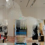 Crystal horse in the Stella McCartney store