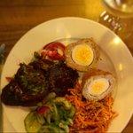 Thai Scotch Egg & Salad Plate