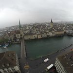Excellent view of Zurich