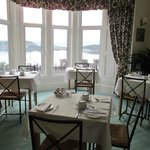 Lovely breakfast room - with view