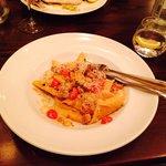 Main course pasta