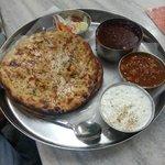 Pratha Thali