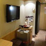 房間電視及mini bar