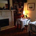 A sala da Biblioteca da Pizza Itália /Caffe Itália em Cascais
