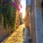 Villas Kallergis Crete - view of the village alley