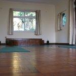 Sala w której odbywają się zajęcia jogi